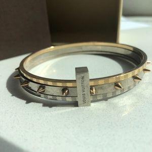 Louis Vuitton Spiky Valentine bracelet